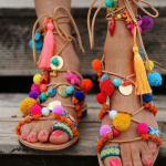 Pimpa dina fötter! Alltid gör du någon glad!