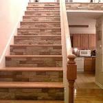 Dekorera trappan med sten