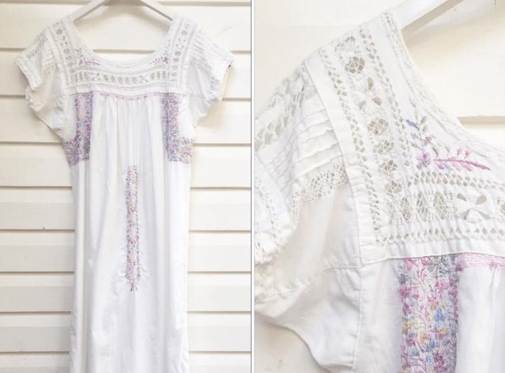 vintage Mexican dresses