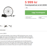 Nu kan du bygga om din cykel till en ELcykel