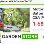 Tips på batteridriven motorsåg av kvalité med nedsatt pris