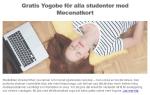 Gratis Yoga för studenter