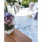 Coolest badbalja kan vara ett alternativ till dig som vill ha ett badkar!