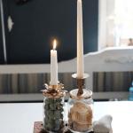 Pyssla och tillverka ljushållare