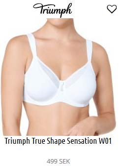 Triumph True Shape Sensation W01