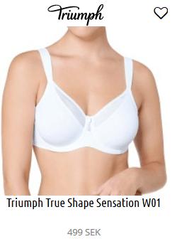 Triumph True Shape Sensation W01