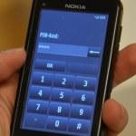 Viktig information till dig med pinkod på mobilen
