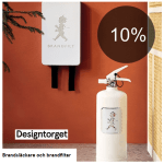 10% på brandfiltar och brandsläckare från Solstickan!