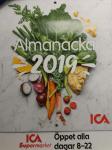 Nu finns ICAs almanacka ute! Gratis eller 5 kr till Världsnaturfonden!