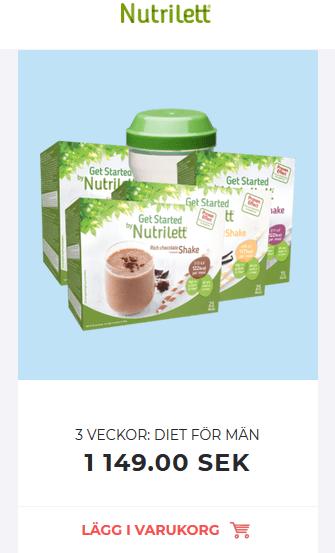 diet nutrilett