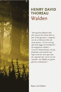 Walden av Henry David Thoreau