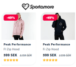 REA Peak Performance FI Zip Hood