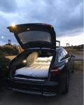 Sängplats i bilen! Billig camping!