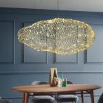 Göra en kreativ lampa med hönsnät och ljusslinga