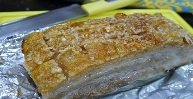 Easy Oven Roasted Lechon Kawali Recipe Panlasang Pinoy Recipes