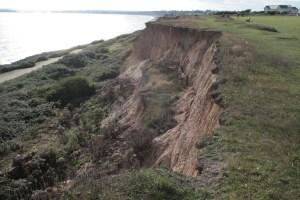 Barton cliff erosion