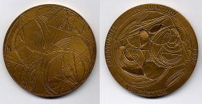 Eurotunnel Breakthrough Commemorative Medal