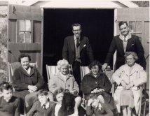 Barton on Sea Beach Hut Easter 1960