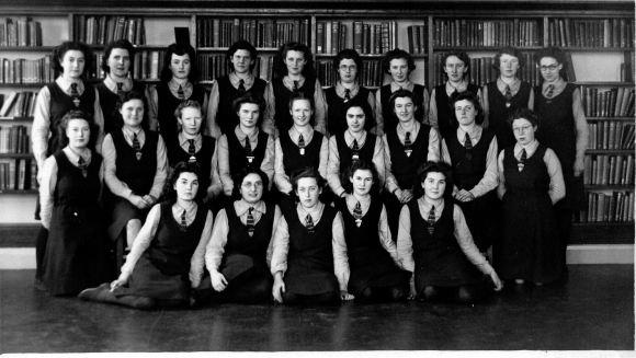 Westcliff High School for Girls Prefects Feb 1943