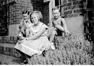 Steve, Jan, Gus, August 1959