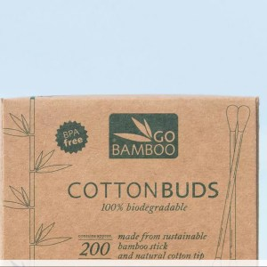 Bamboo natural cotton ear buds
