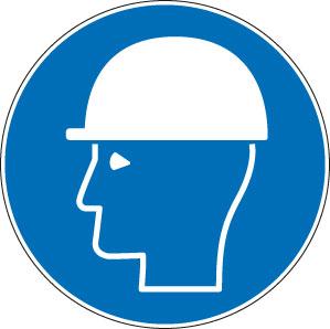 panneaux signalisation santé sécurité travail Casque de protection