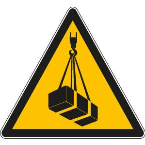panneaux signalisation santé sécurité travail Charges suspendues