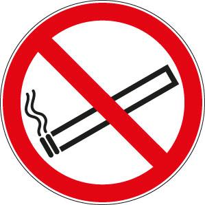 panneaux signalisation santé sécurité travail Interdiction de fumer