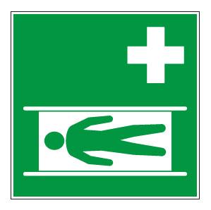 panneaux signalisation santé sécurité travail Civière