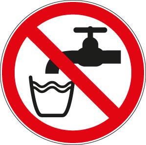 panneaux signalisation santé sécurité travail eau non potable
