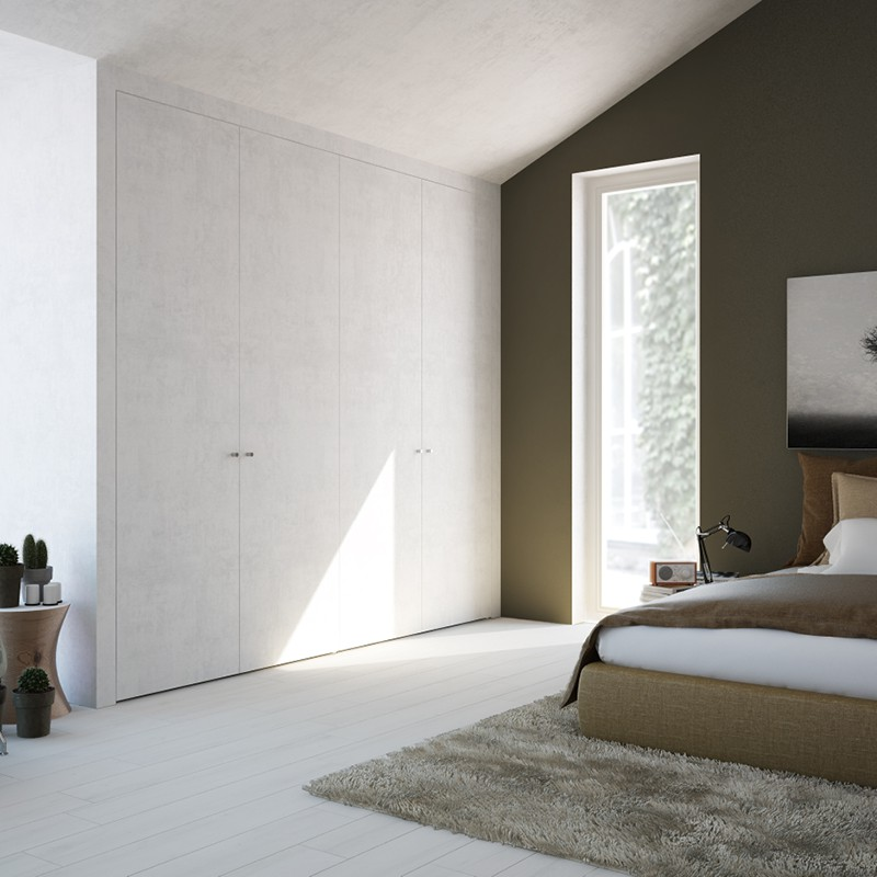 Armadi a muro invisibili soluzione design per tutti gli ambienti - Porte invisibili scorrevoli ...
