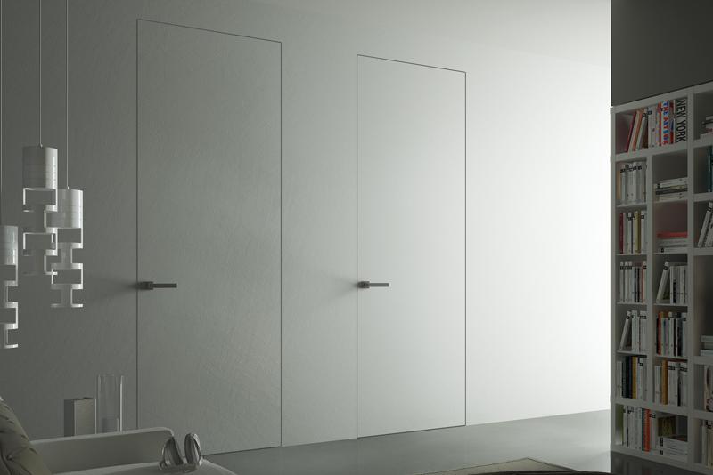 Come installare una porta filomuro battente.