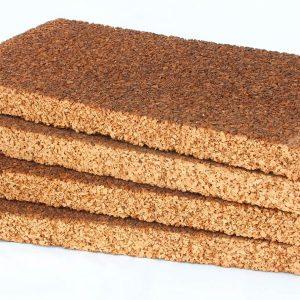 Pannelli in sughero biondo Cork Panels spessore grande