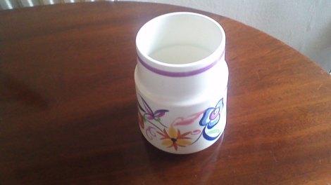 Poole Pottery Vase 1934 37 Dorothy James Pannier Antiques