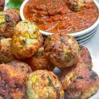 Ottolenghi's Turkey Corn Meatballs