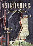 Cover art of November 1945 ASTOUNDING SCIENCE-FICTION, at a simulated 25 ppi