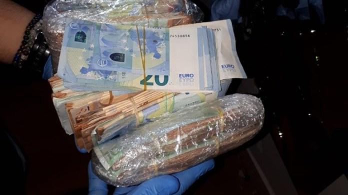 Para të sekestruara nga policia holandeze gjatë aksioneve