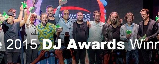 ESTOS SON LOS GANADORES DE LOS DJ AWARDS 2015