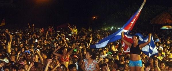Festival de electrónica en Cuba