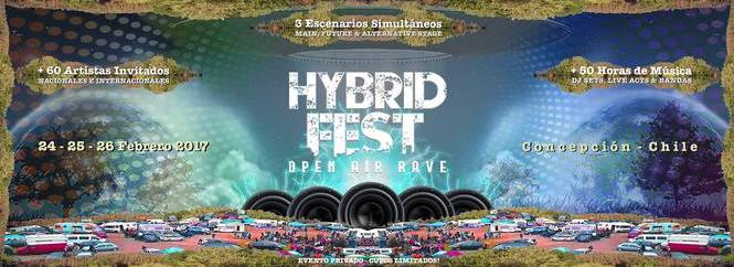 Hybrid Fest 2017 @ Open Air Rave
