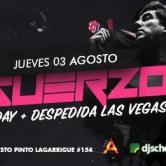 Inguerzon Birthday + Despedida Las Vegas Jueves 3 de Agosto