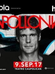Motorola presenta: Apollonia / 9 Septiembre / Teatro Caupolican