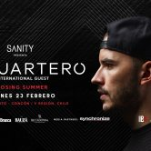 Budweiser presenta Sanity ♫ Cuartero ♫ Closing Summer en Viña