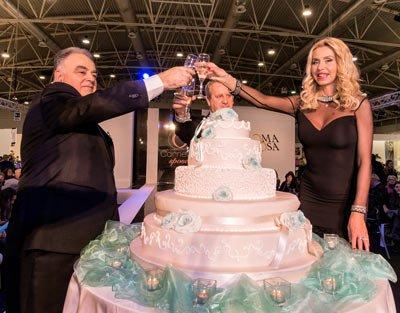 valeria marini roma sposi
