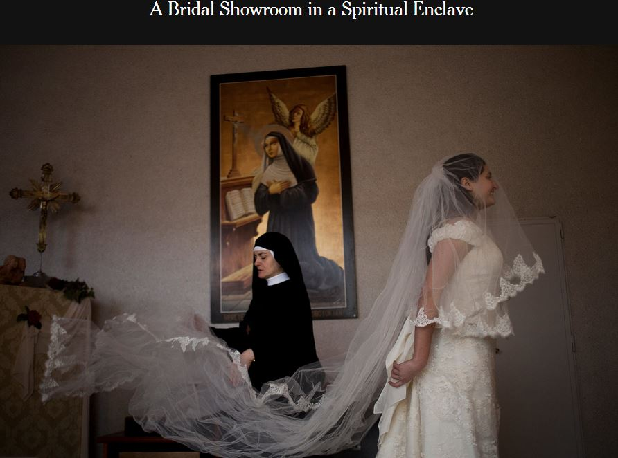 abiti da sposa gratis suore di cascia