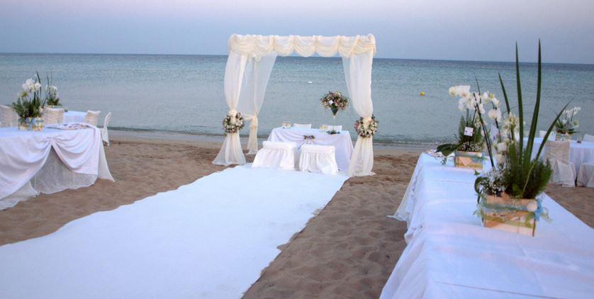 mondragone matrimonio spiaggia tariffa