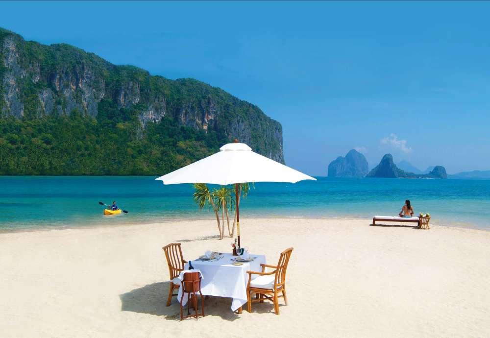 Sandbar a El Nido Resort
