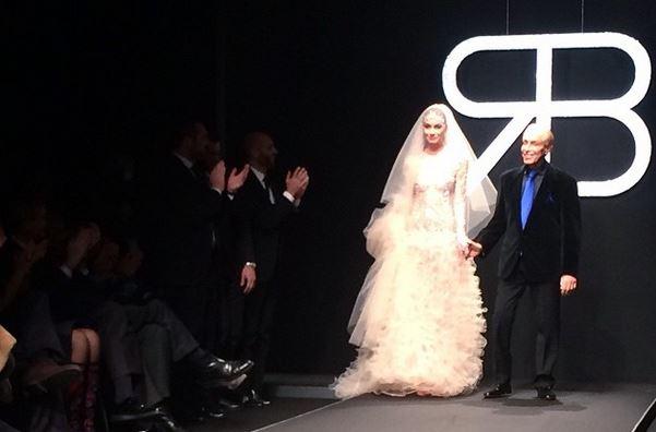 abito da sposa renato balestra 2015