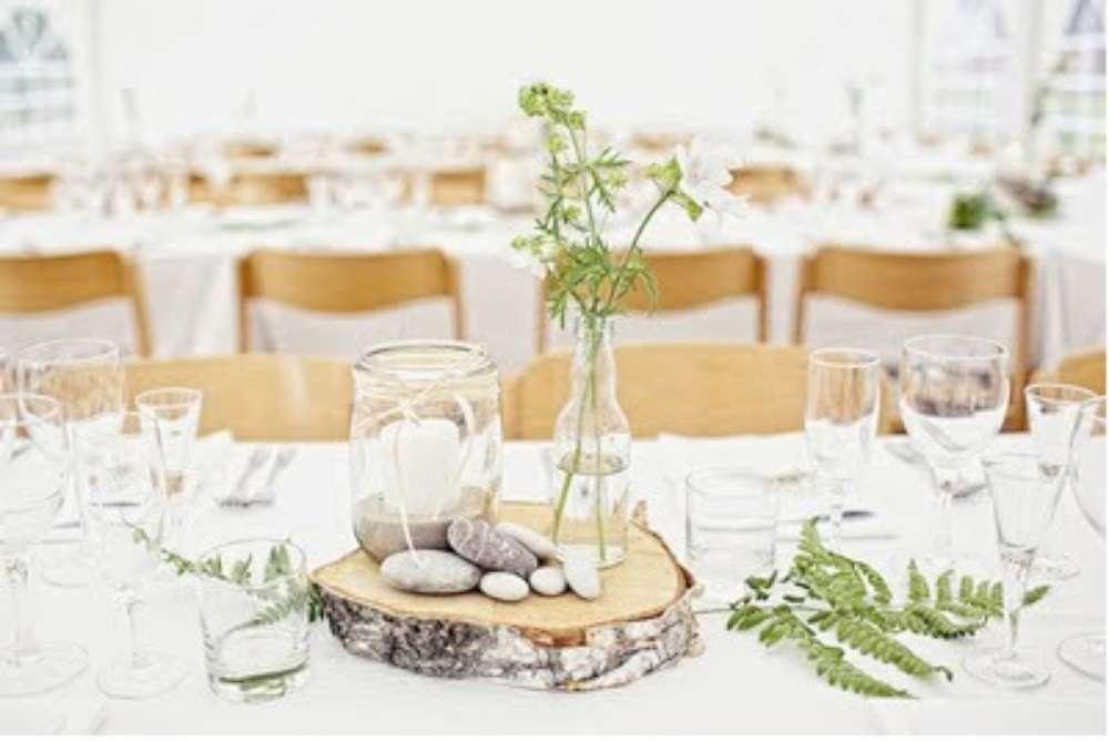 matrimonio country tavolo allestimento