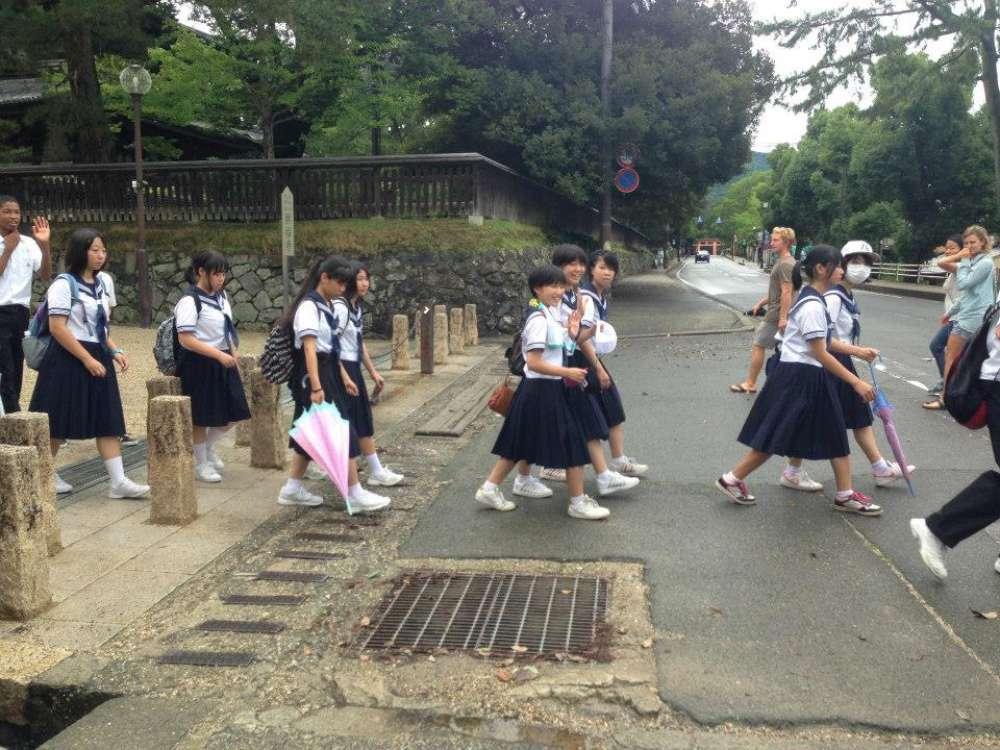 scolarette giapponesi